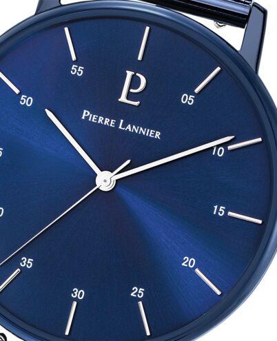 Montre Homme CITYLINE Cadran Bleu Bracelet Acier milanais Bleu