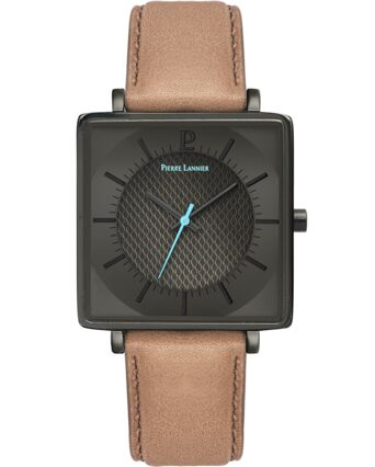 Quartz Men's Watch DUNE Grey Dial Sand Strap