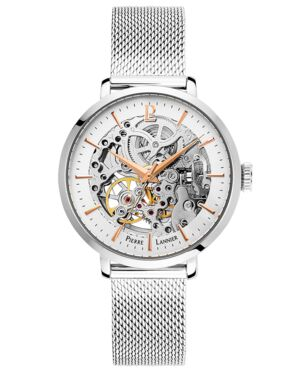 AUTOMATIC Ladies Watch AUTOMATIC Silver Dial Silver Strap