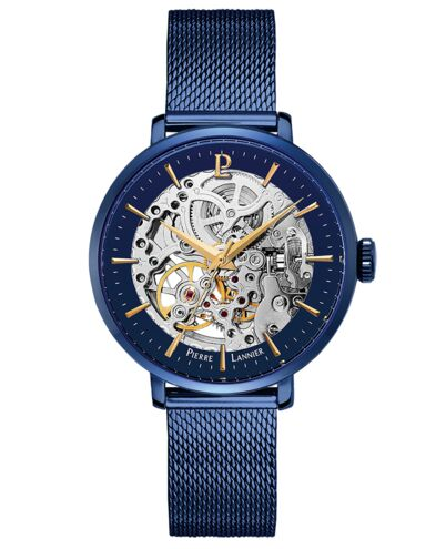 AUTOMATIC Ladies Watch AUTOMATIC Blue Dial Blue Strap