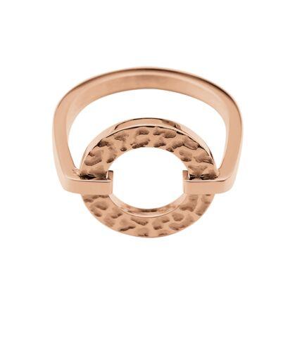 Ring CAPRICE steel rose gold 52mm