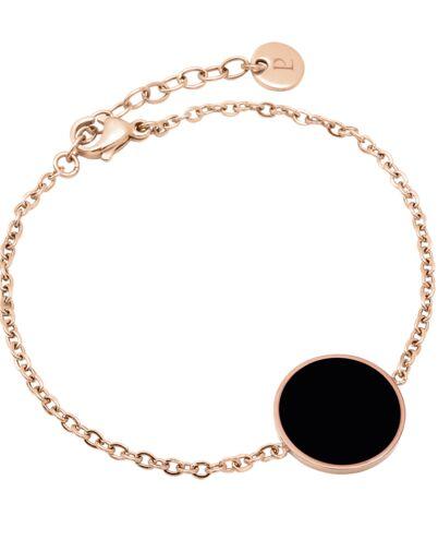 Bracelet SYMPHONY steel rose gold black