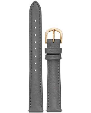 Strap Ladies Leather Grey 14MM