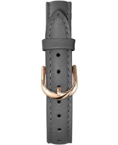 Grey Leather Ladies 14MM Strap
