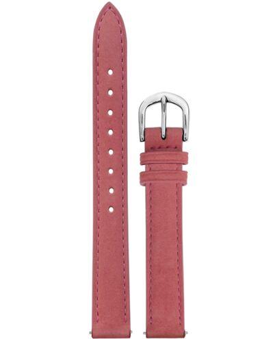 Bracelet Femme Cuir nubuck Rose 12 MM