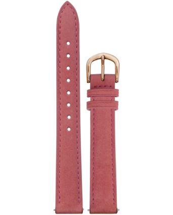 Rose Nubuck Leather Ladies 14MM Strap