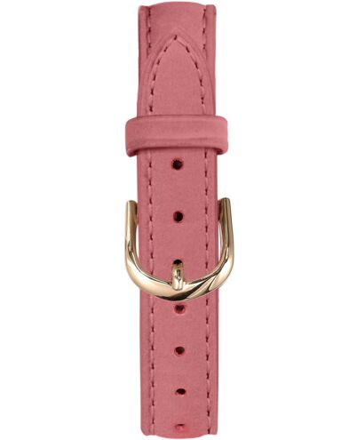 Bracelet Femme Cuir nubuck Rose 14 MM