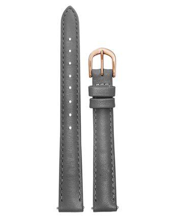 Bracelet Femme Cuir Gris 12 MM