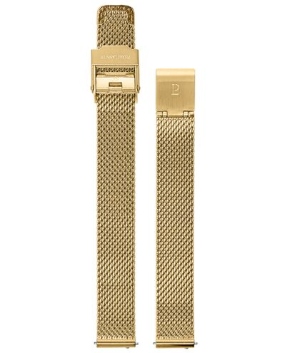 Gold colour Mesh Steel Ladies 12MM Strap