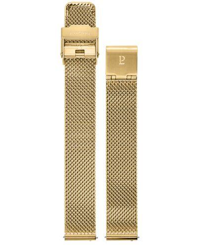 Gold colour Mesh Steel Ladies 14MM Strap