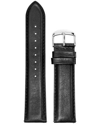 Bracelet Homme Cuir Noir 22 MM