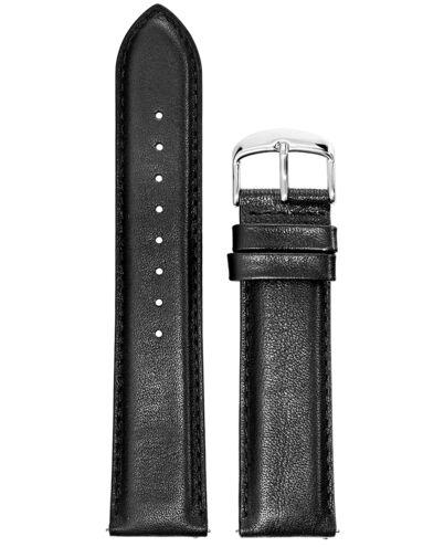 Black Leather MEN 22MM Strap