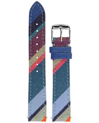 Bracelet Femme Tissu Bleu 16 MM