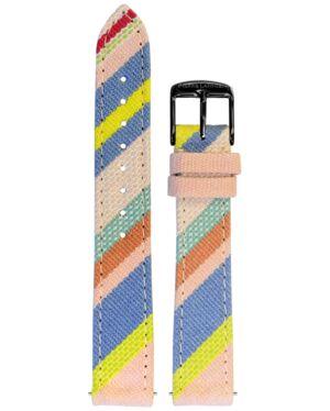 Bracelet Femme Tissu Multicolore 16 MM