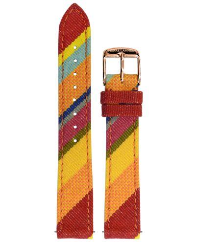 Bracelet Femme Tissu Rouge 16 MM