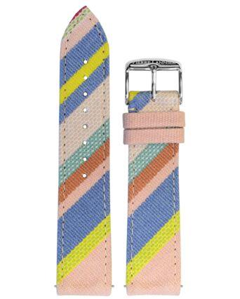 Bracelet Femme Tissu Multicolore 20 MM