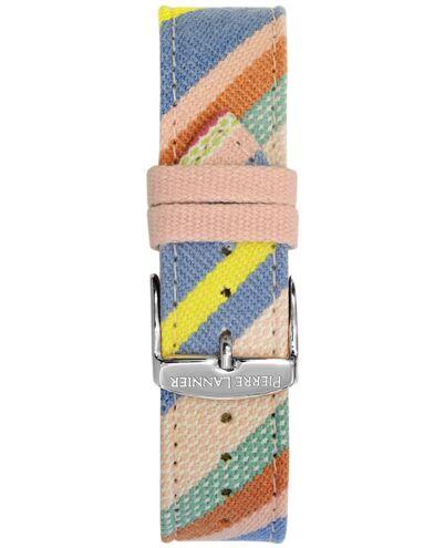 Multicoloured Fabric Ladies 20MM Strap