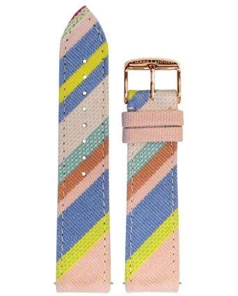 Bracelet Femme Tissu Rose 20 MM