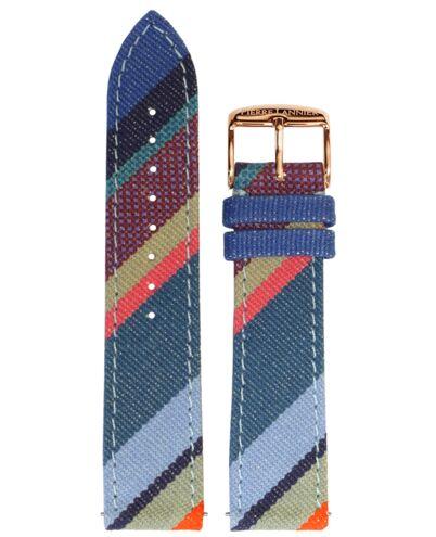 Bracelet Femme Tissu Bleu 20 MM