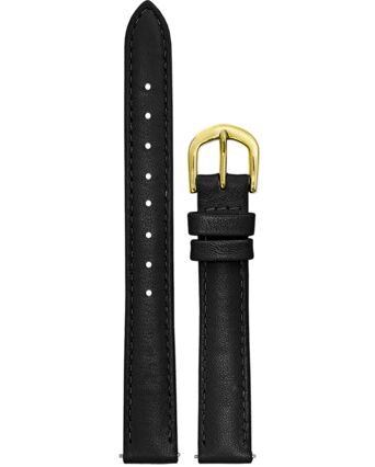 Bracelet Femme Cuir Noir 12 MM