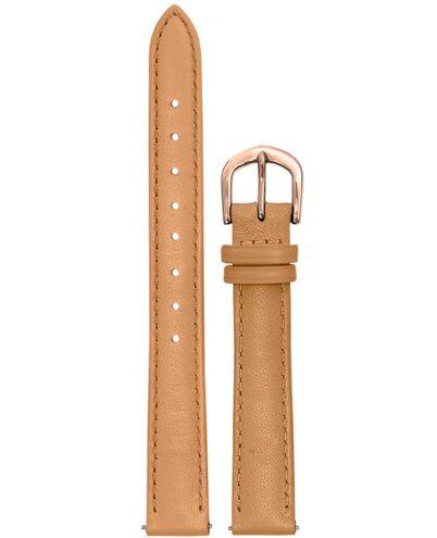 Bracelet Femme Cuir Camel 12 MM
