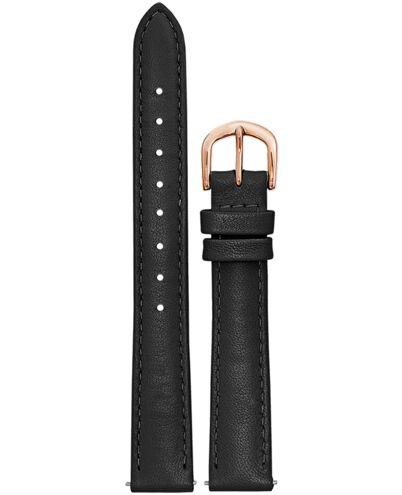 Bracelet Femme Cuir Noir 14 MM