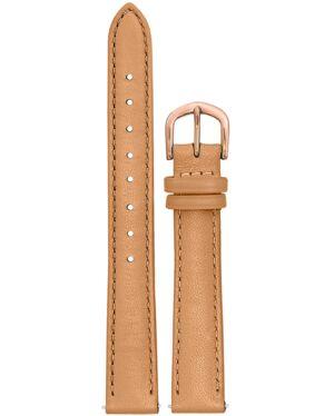 Bracelet Femme Cuir Camel 14 MM