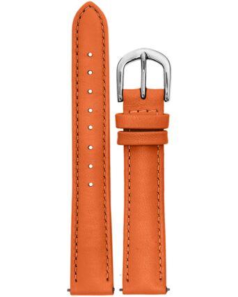 Orange Leather Ladies 16MM Strap