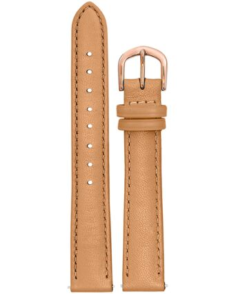 Camel Leather Ladies 16MM Strap