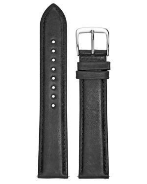 Black Leather Ladies 20MM Strap