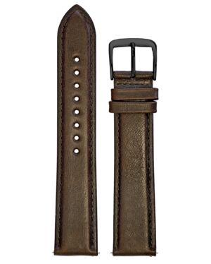 Brown Leather MEN 20MM Strap