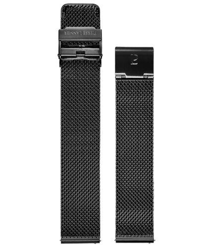 Bracelet Homme Acier Noir 18 MM