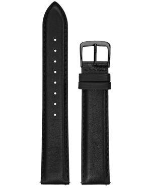 Black Leather MEN 18MM Strap