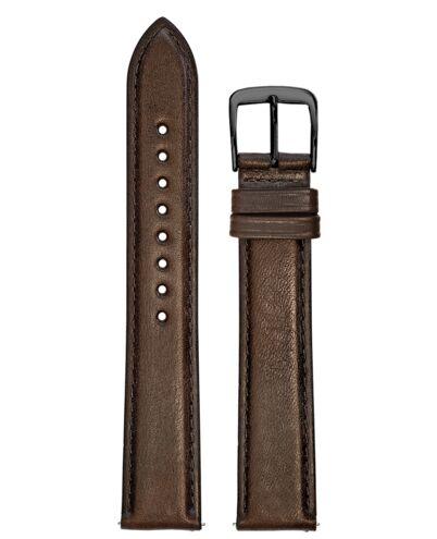 Brown Leather MEN 18MM Strap