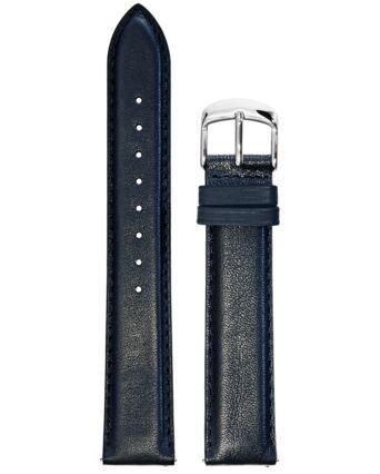Blue Leather MEN 18MM Strap