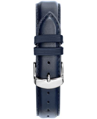 Bracelet Homme Cuir Bleu 18 MM