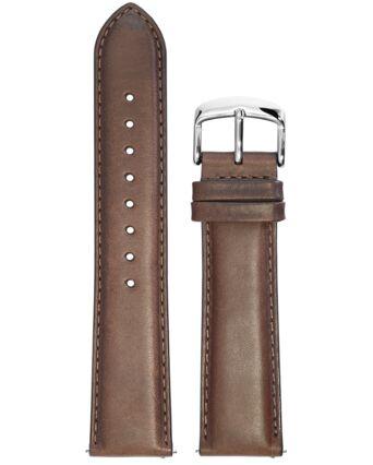 Bracelet Homme Cuir Brun 22 MM