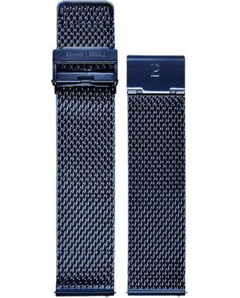 Bracelet Homme Acier Bleu 22 MM