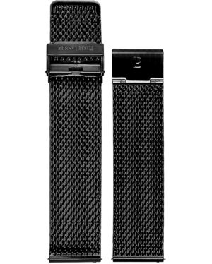 Bracelet Homme Acier Noir 22 MM