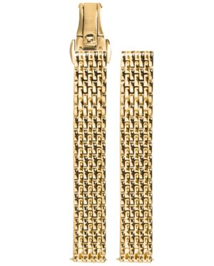 Gold colour Steel Ladies 12MM Strap