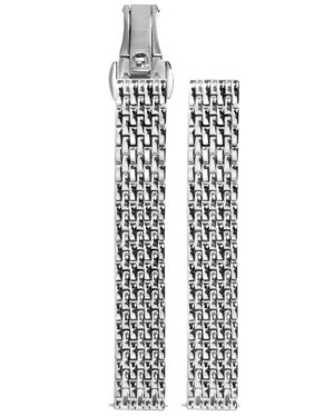 Silver Steel Ladies 12MM Strap