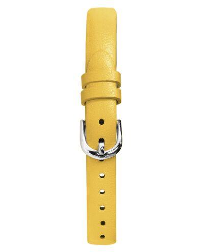Yellow Leather Ladies 10MM Strap