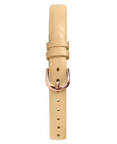 Bracelet Femme Cuir Sable 10 MM