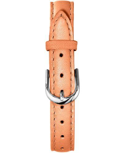 Orange Leather Ladies 10MM Strap