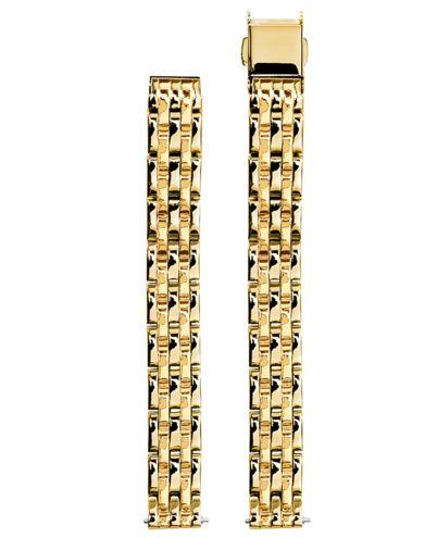 Gold Steel Ladies 10MM Strap