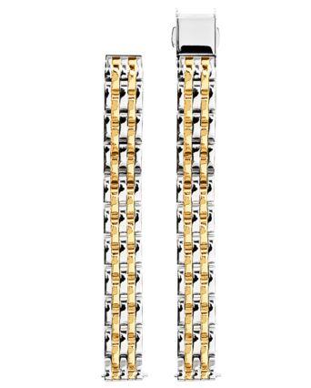 Bracelet Femme Acier Bicolore 10 MM