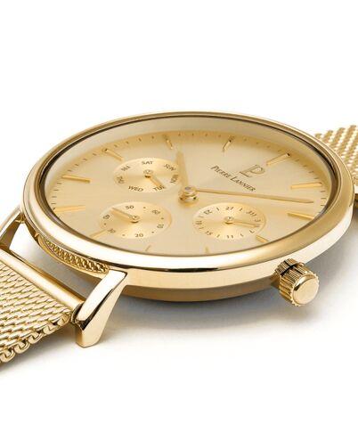 Quartz Ladies Watch SYMPHONY Gold Dial Gold Mesh steel Strap