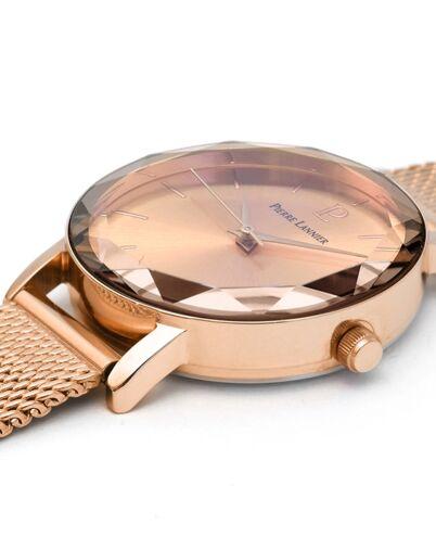 Quartz Ladies Watch MULTIPLES Dial Rose Gold colour Mesh steel Strap