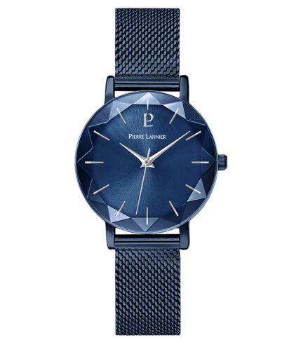 Montre Femme MULTIPLES Cadran Bleu Bracelet Acier Milanais Bleu