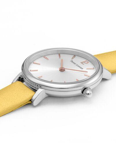 Quartz Ladies Watch NOVA Silver Dial Leather Strap